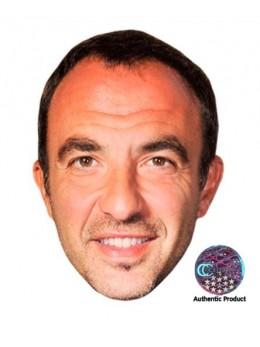 Masque carton Nikos Aliagas
