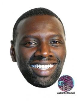 Masque carton Omar Sy