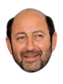 Masque carton Kad Merad