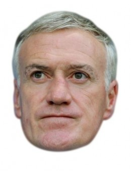 Masque carton Didier Deschamps