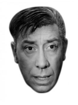 Masque carton Fernandel