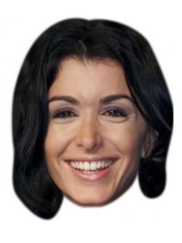 Masque carton Jenifer Bartoli