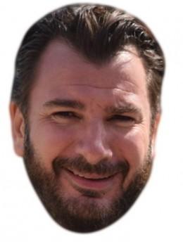 Masque carton Mickaël Youn