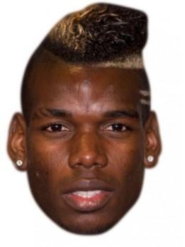 Masque carton Paul Pogba