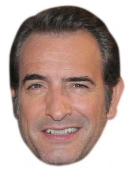 Masque carton Jean Dujardin
