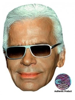 Masque carton Karl Lagerfeld
