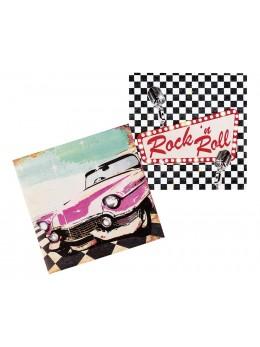 Serviettes Rock'n roll