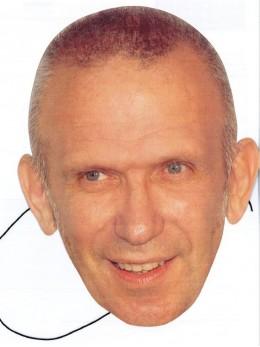 Masque carton Jean Paul Gaultier