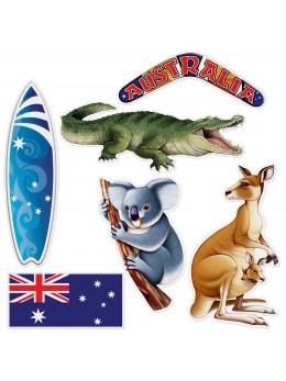 Lot 6 découpes Australie