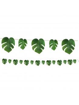 Guirlande feuilles exotiques