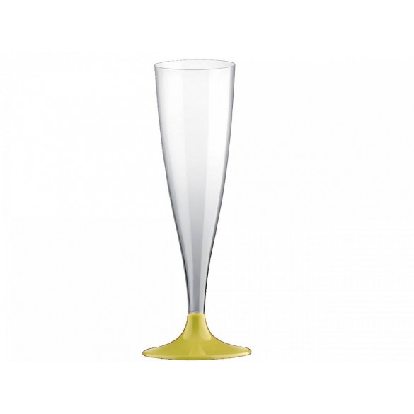 10 Easy flutes champagne pieds jaune