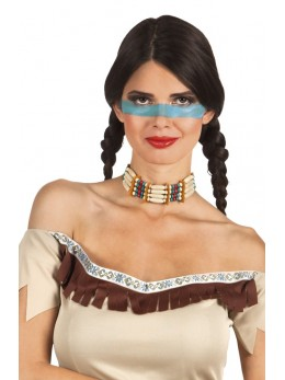 Collier indienne squaw
