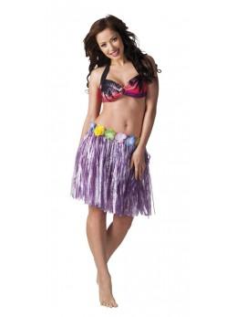 jupe hawaienne violette