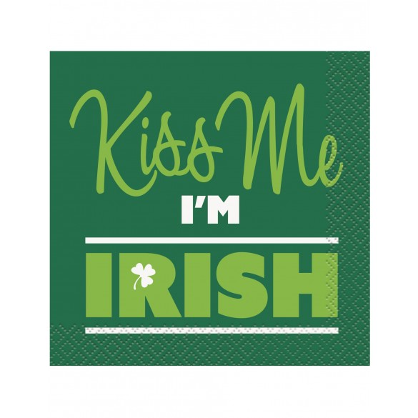 16 Serviettes irish Saint Patrick