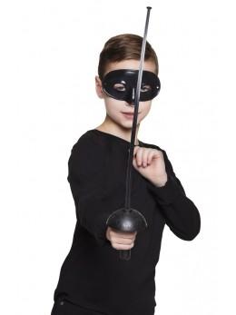 épée de zorro avec masque