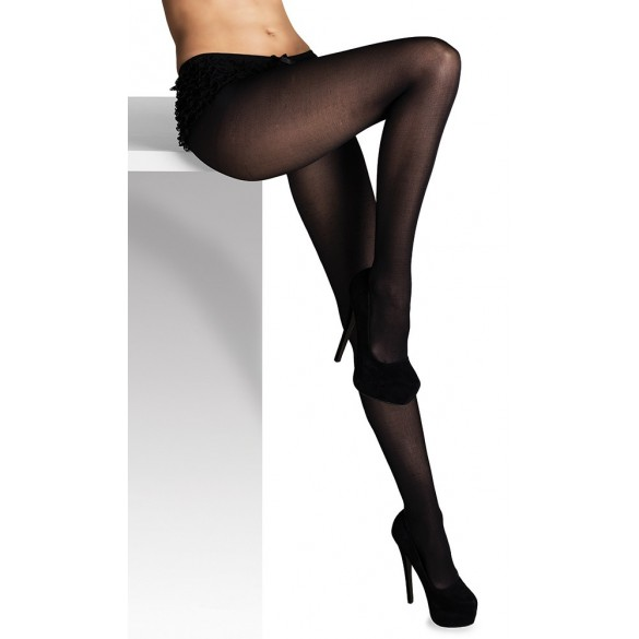 Collants opaque noir
