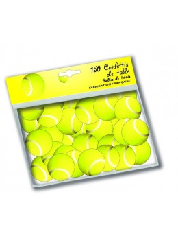 150 confetti balles de tennis
