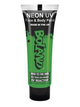 tube maquillage fluo vert