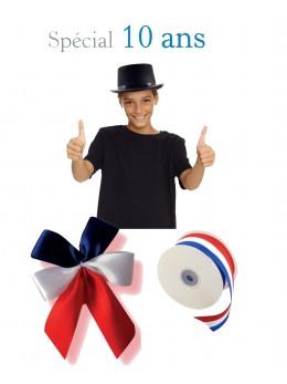 Kit conscrit 10 ans garçon tricolore