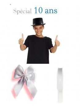 Kit conscrit 10 ans garçon blanc