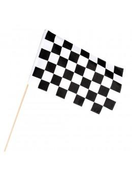 Drapeau tissu Racing damier 30x45cm
