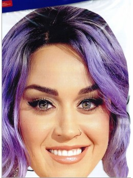 Masque carton Katy Perry