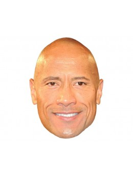 Masque carton Dwayne Johnson