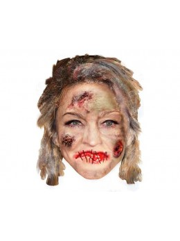 Masque carton Madonna zombie