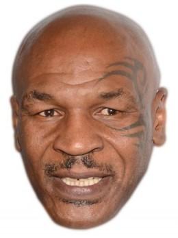 Masque carton Mike Tyson