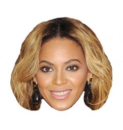 Masque carton Beyoncé Knowles