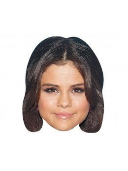Masque carton Selena Gomez