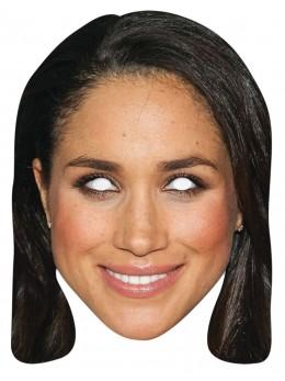 Masque carton Meghan Markle