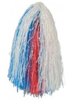 pompom tricolore