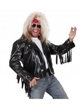 Veste Rockeur avec clou et franges