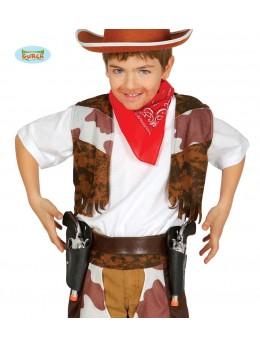 Ceinture + 2 pistolets cowboy enfant