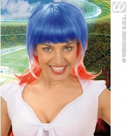 Perruque supportrice France