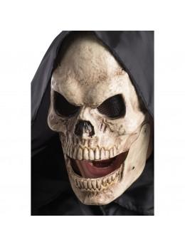 Masque squelette machoire articulée