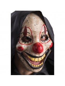 Masque de clown psycho machoire articulée