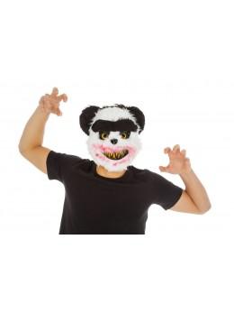 Masque panda effrayant