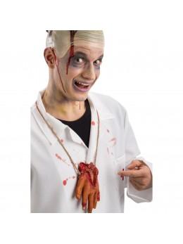 collier main coupée sanglante