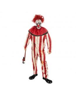 Déguisement de clown psychopathe avec masque