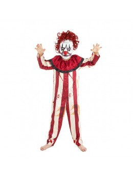 Déguisement de clown psychopathe enfant avec masque
