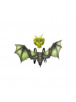 Set de déguisement dragon vert