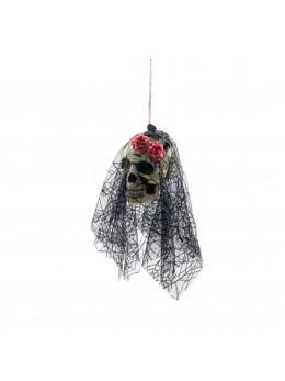 Suspension crâne mariée de la mort