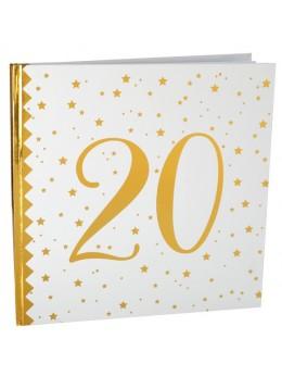 Livre d'or anniversaire 20 ans