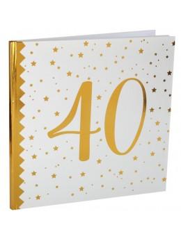 Livre d'or anniversaire 40 ans