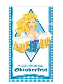 Déco de porte Oktoberfest 70x120cm