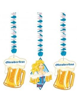 3 suspensions Oktoberfest
