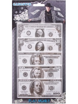 Billets dollar factice