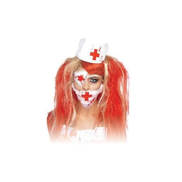 Kit déguisement infirmière zombie